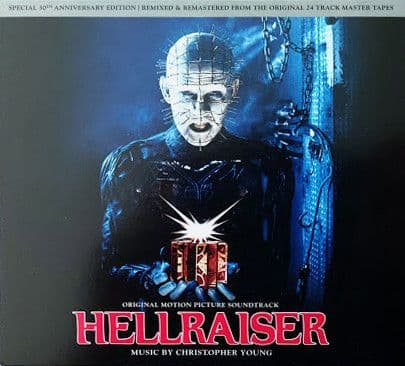 Christopher Young<br>Hellraiser (Original Motion Picture Soundtrack)<br>CD, RE, RM, S/Edition,